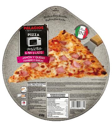 Pizza presunto e queijo