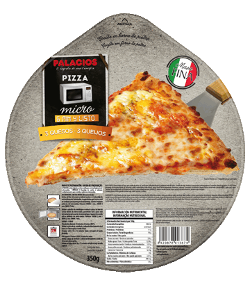 Pizza 3 queijos