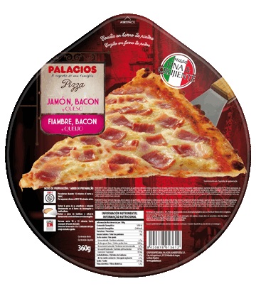 Pizza Presunto Bacon Queijo