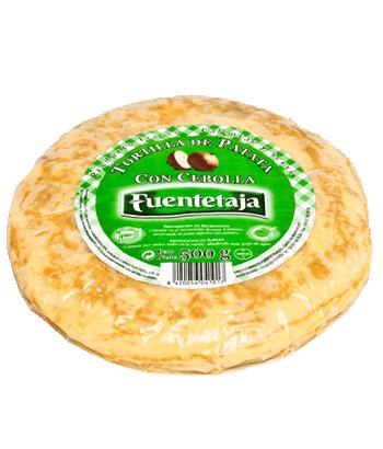 Tortilha de batata pasteurizada com cebola