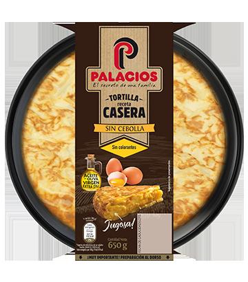 Tortilha caseira palacios sem cebola 650 g