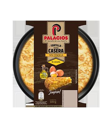 Tortilha caseira palacios sem cebola 300 g