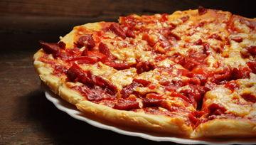 Pizzas frescas