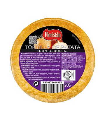 Tortilha de batata com cebola míni