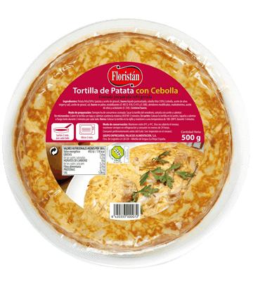 Tortilha de batata com cebola média