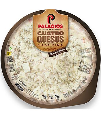 Pizza Massa Fina quatro Queijos