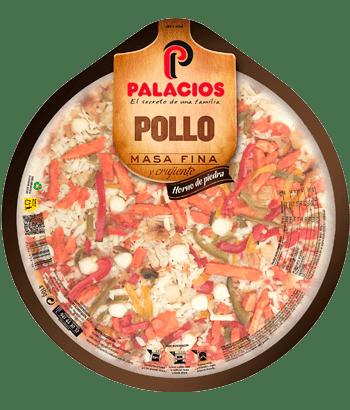 Pizza Massa Fina frango