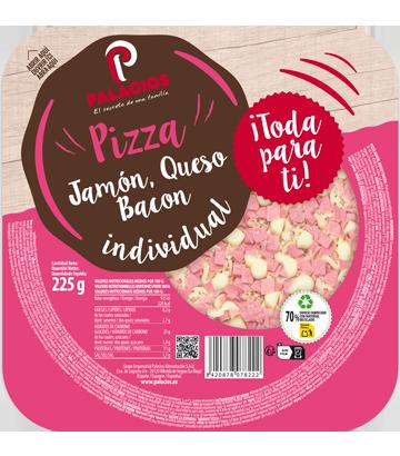 Pizza Míni Micro Presunto Bacon Queijo