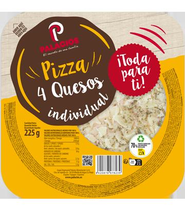 Pizza Míni Micro quatro Queijos